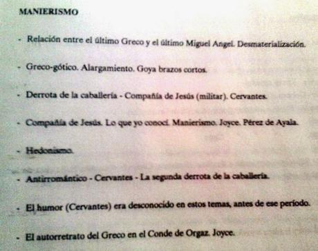 Manierismo, Mies, pop, Cantinflas, Chabeli...