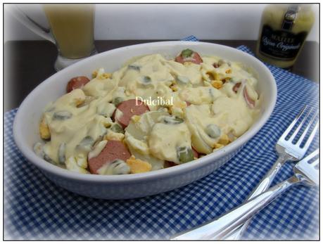 Ensalada alemana de patata kartoffelsalat paperblog - Ensalada alemana de patatas ...