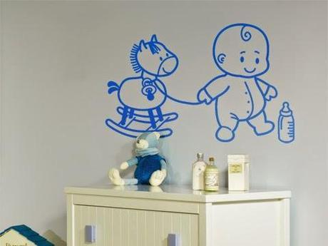 Decoraci n del cuarto de un beb var n paperblog for Decoracion habitacion de bebe varon