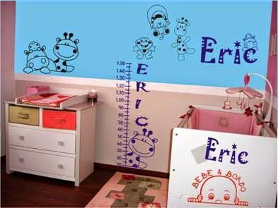 Decoraci n del cuarto de un beb var n paperblog Diseno de habitacion para bebe varon