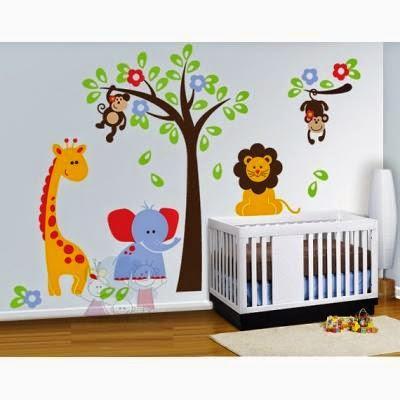 Decoraci n del cuarto de un beb var n paperblog for Pegatinas para decorar habitaciones