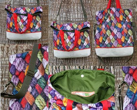 Telas para bolsos coser un bolso 1 paperblog - Bolsos de tela hechos en casa ...