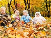 Disfrutar otoño familia