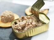 Paté Sardinas aperitivo lujo modesto ingrediente