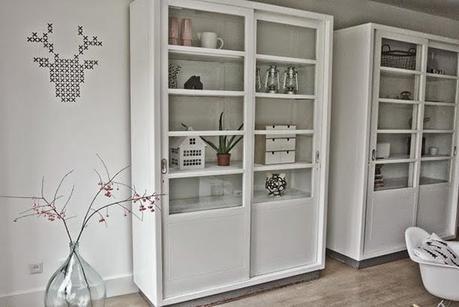 Ideas para comedor vitrinas y estanter as de estilo n rdico paperblog - Ikea vitrinas comedor ...