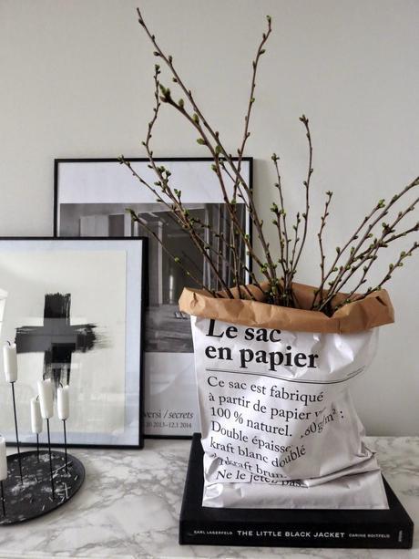 The paper bag/Le sac en papier + DIY