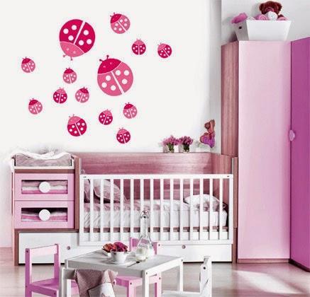 Decoraci n del cuarto de una beb mujer paperblog - Decoracion de una habitacion ...