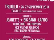 Aplazado festival Europa Trujillo 2014