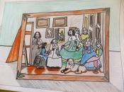 """Las Meninas""de Primero expuestas ANIMOTO"