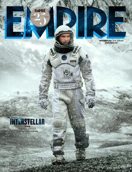 Interstellar En La Portada De Empire + Nuevo Poster