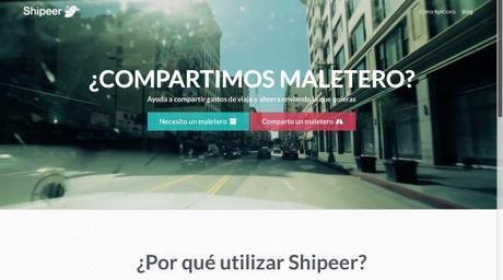 pantalla shipeer Shipeer: plataforma de mensajería colaborativa en España
