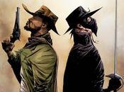 Primer vistazo comic crossover entre 'django unchained' 'zorro'