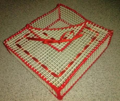 Servilletero con malla de pl stico paperblog - Mallas de plastico ...