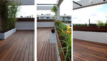 reforma terraza 051 Reforma de una terraza con diseño de madera de exterior y bambú
