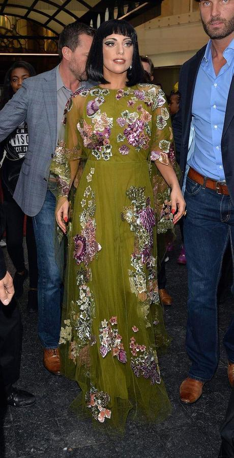 Lady Gaga, de Valentino.