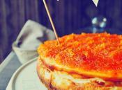 York Cheesecake mermelada calabaza, jengibre vainilla