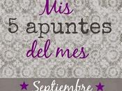 apuntes septiembre