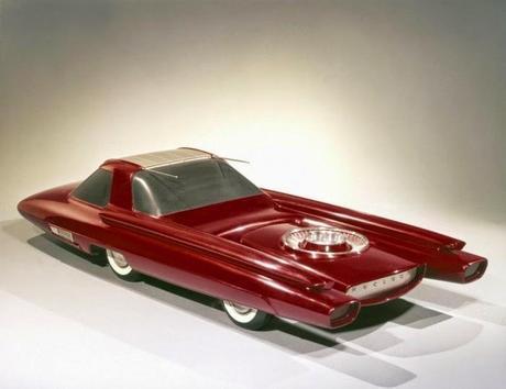 Ford Nucleon, el futurista coche nuclear