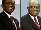 Presidentes Namibia Guinea Ecuatorial arriban Cuba