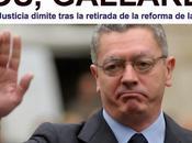 derecha descompone: Gallardón abandona política; Aguirre confiesa juez tuvo miedo; Pujol encoleriza Parlament.