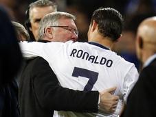 Ferguson llamó Cristiano para fiche United