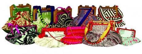 Los bolsos La Carola son piezas únicas e irrepetibles, elaboradas sobre un patrón patentado con forma de abanico invertido.