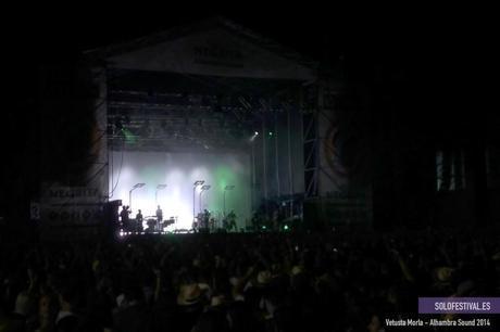 Festival Alhambra Sound - Solo Festival - Vetusta Morla