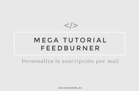 blogger-personalizar-feedburner-suscripcion-por-correo