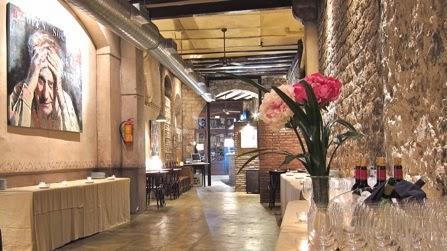 lugares con encanto antic bocoi del gòtic restaurante barcelona