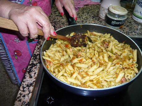 Cocina conmigo: Macarrones con verduras