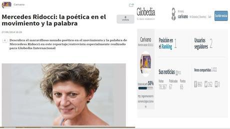 Mercedes Ridocci: la poética en el movimiento y la palabra