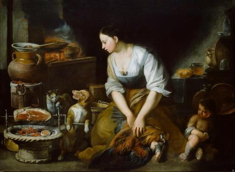 La cocinera  #historiaycomida