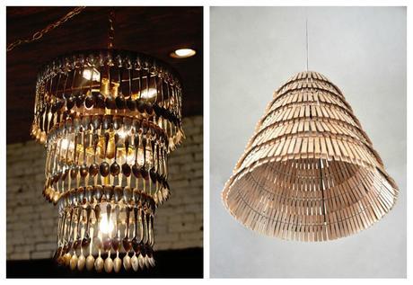L mparas recicladas paperblog - Como hacer lamparas originales ...