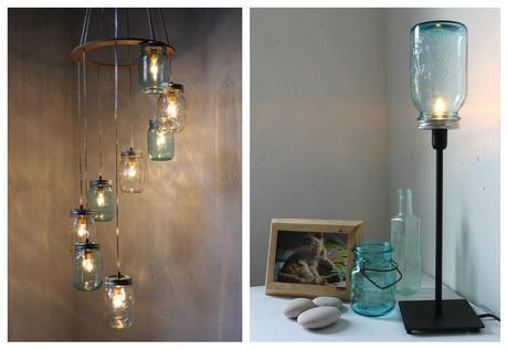 L mparas recicladas paperblog - Tulipas para lamparas de techo ...
