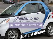 ¿Rentar Rentar Carro? Dilema