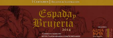 """I Certamen de Relato e Ilustración """"Espada y Brujería"""" de Pulpture"""