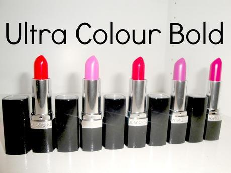 Barras de labios Ultra Colour Bold de Avon