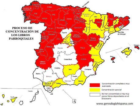 mapa concentración diócesis