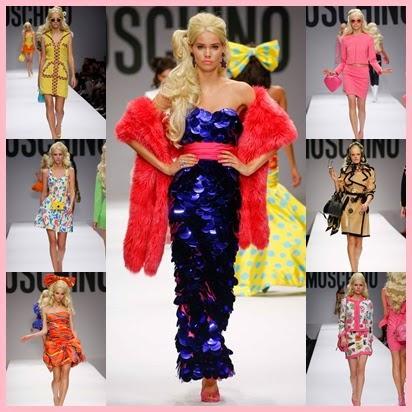 Barbie viste de Moschino