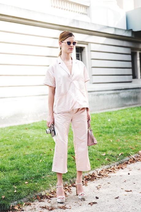 Paris_Fashion_Week_Spring_Summer_15-PFW-Street_Style-Hanneli_Mustaparta-PIjama-Pastel_Trend-Chloe-2