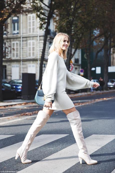 Paris_Fashion_Week_Spring_Summer_15-PFW-Street_Style-Elena_Perminova-XXL_Boots-Chloe_Bag-2