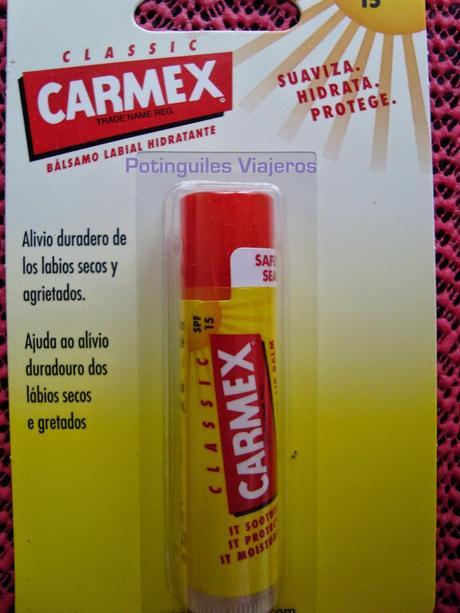 Carmex: ¿Qué es lo que os podéis llevar a casa?