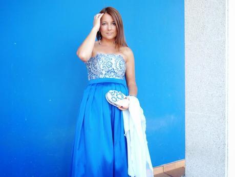 Boda de verano... vestida de princesa.