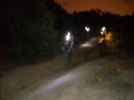 Rutas cicloturistas nocturnas