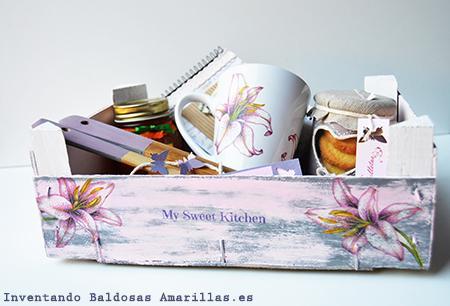 Decorar cajas de frutas paperblog - Decorar cajas de madera de fruta ...