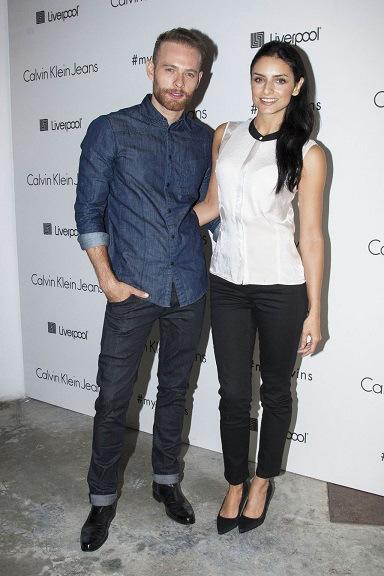 Calvin Klein celebró campaña publicitaria diseñada para