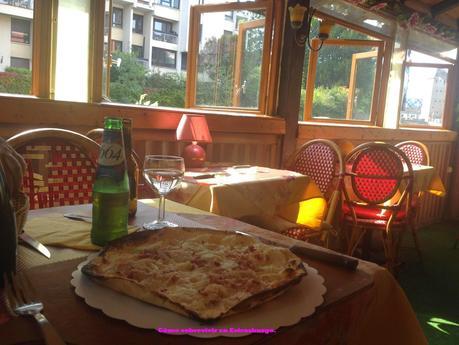 Restaurante en la Petite France.