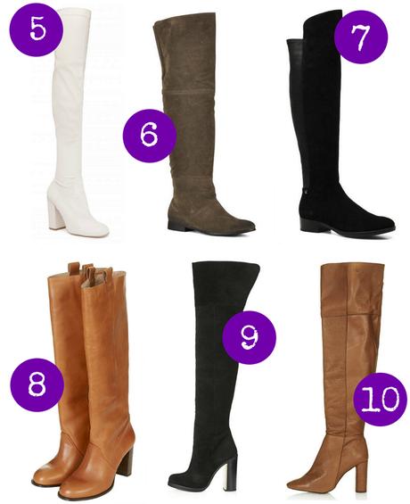 trend alert: capa más botas altas