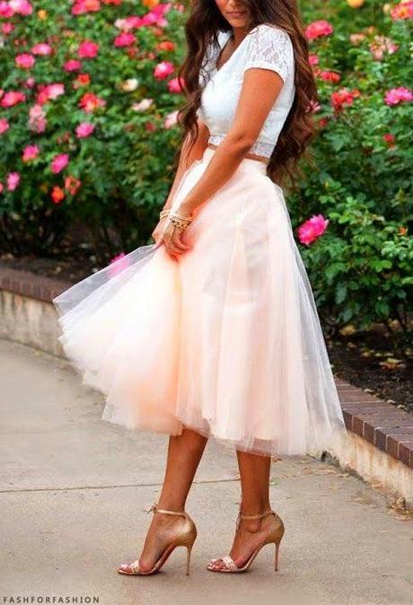 ¡Faldas de tul ideales para una invitada perfecta!