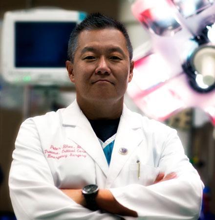 Dr. Peter Rhee, pionero de la animación suspendida
